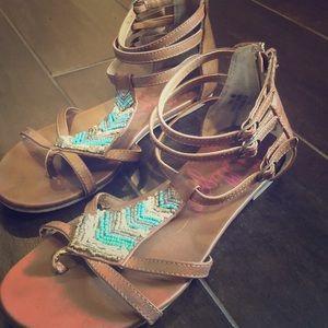 Sequences sandals! Size 6